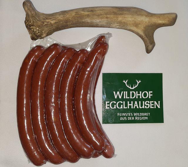 Käsewürstl vom Hirsch